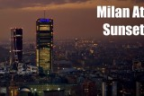 Milano At Sunset – A 5K HD video of Milan's Skyline as the sun goes down