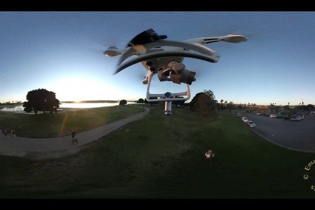 Mission Bay Park Drone 360
