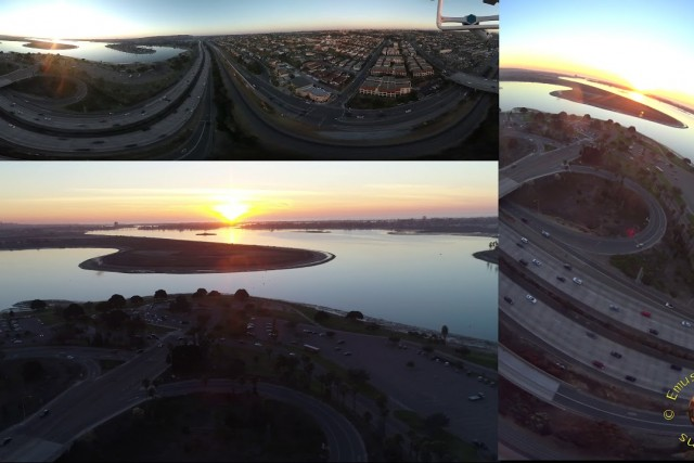 Mission Bay Park Drone Perspectives