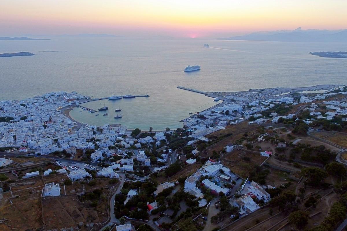 Mykonos Town by Night