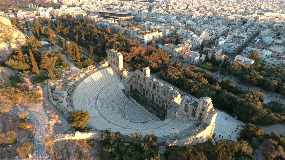Hirodou Attikou theater Athens,Greece