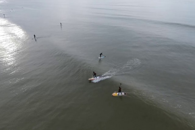 SUP Session, Saint Brevin, France