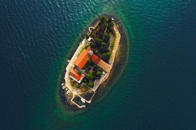 island in Monyenegro