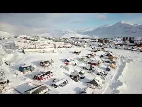 4K drone footage of Nuuk, Greenland (2)