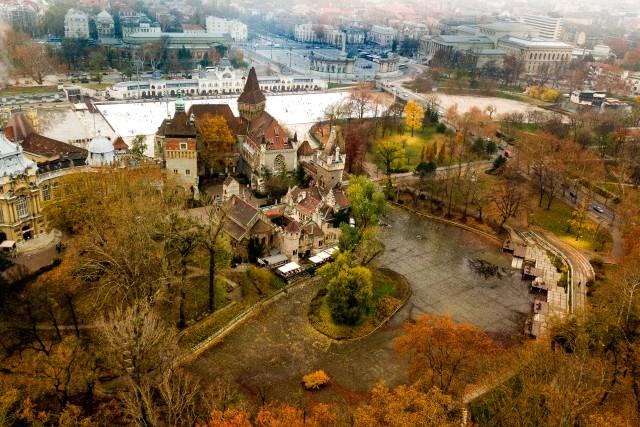 Hero's Square Budapest, Hungary