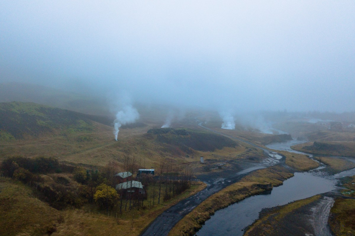 Thermal Springs Golden Circle Iceland