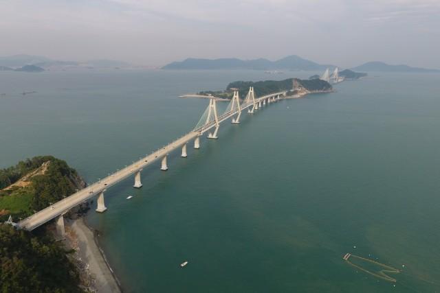 Goeje bridges, South Korea