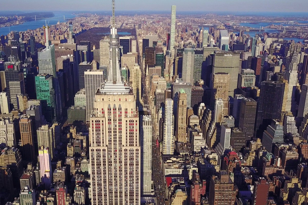 Uptown Manhattan and Empire State Building