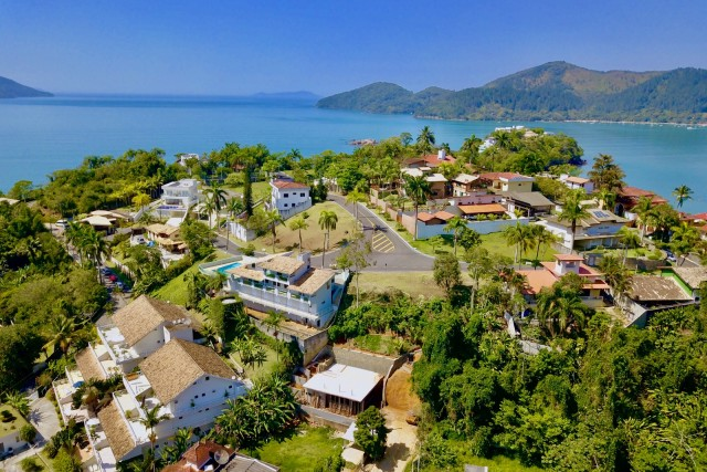 Ubatuba neighborhood in Brazil