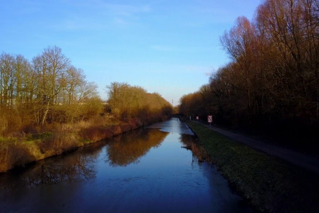 Canal – Ludres – Lorraine – France