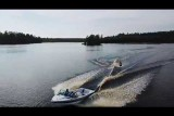 Drone Catches Adaptive Skim Boarder Shredding!!!
