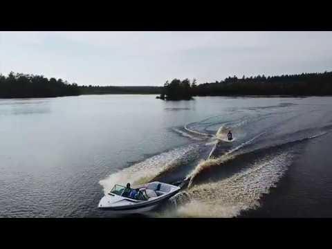 Drone Catches Adaptive Skim Boarder Shredding!!!