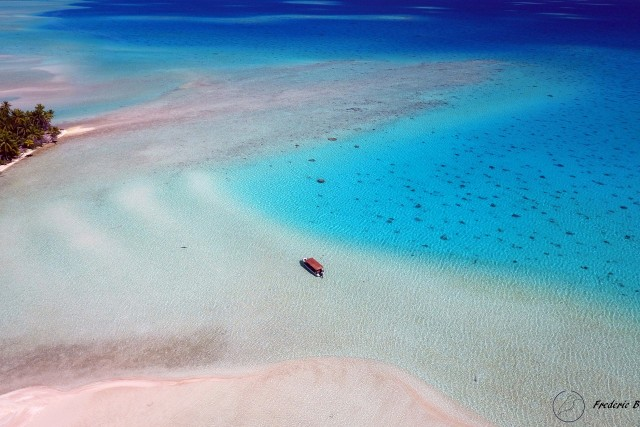 Les sables roses, Fakarava