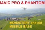 Flight over old Missile Base SAM (museum)
