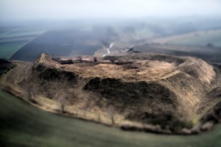 Ancient settlement – Stradow Poland