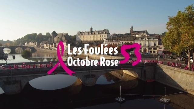 Les Foulées d'Octobre Rose 2018, Laval