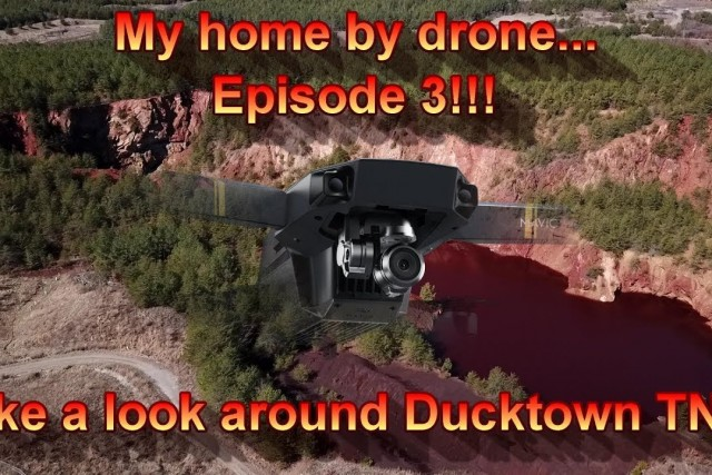 My home by drone… Episode 3!!! Take a look around Ducktown TN.