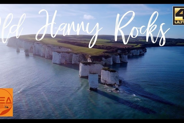 Old Harry Rocks in Winter