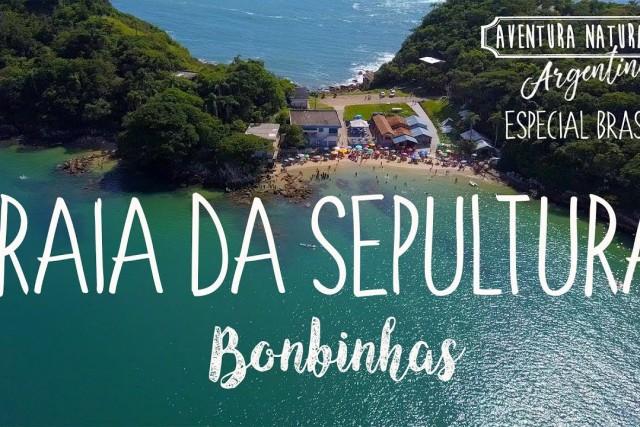 PRAIA DA SEPULTURA – BOMBINHAS SC – BRASIL 4K – MAVIC PRO – OSMO PLUS