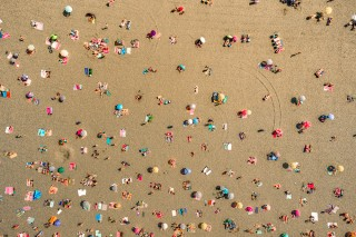 Beach time in Rotterdam