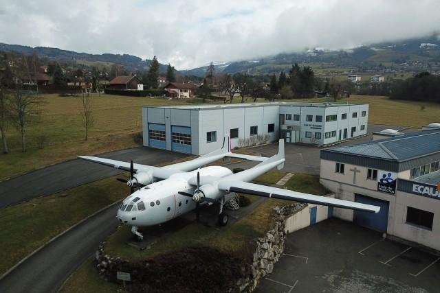 L'avion de Bregny