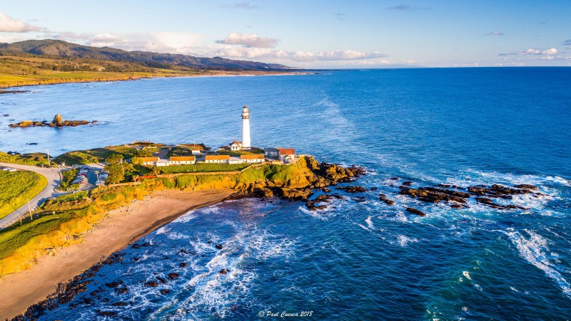 Pigeon Point, Pescadero, California USA