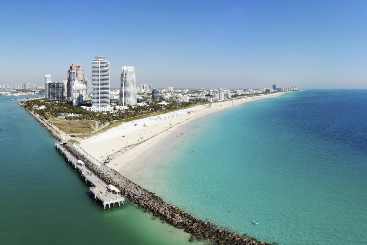 South Pointe, Miami, Florida, USA