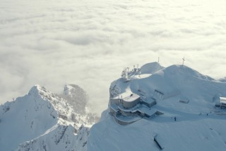 Above the Clouds of the Untersberg!