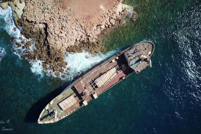 EDRO III ship wreck