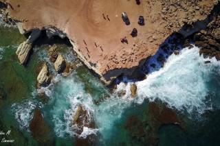 Sea caves at Peyia Paphos