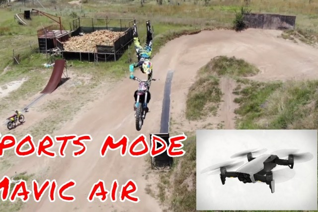 Freestyle tricks filmed with Mavic Air Sports Mode