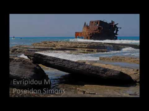 M/V Achaios shipwreck at Akrotiri Cyprus