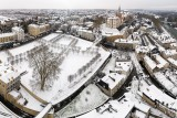Citée paloise sous la neige