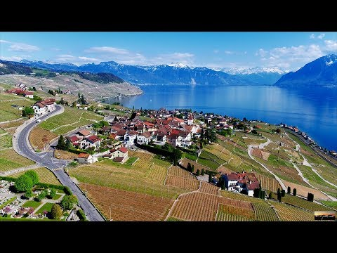 10 YEARS of LAVAUX Patrimoine Mondial – Lavaux from West to East, SWITZERLAND [4K drone footage]