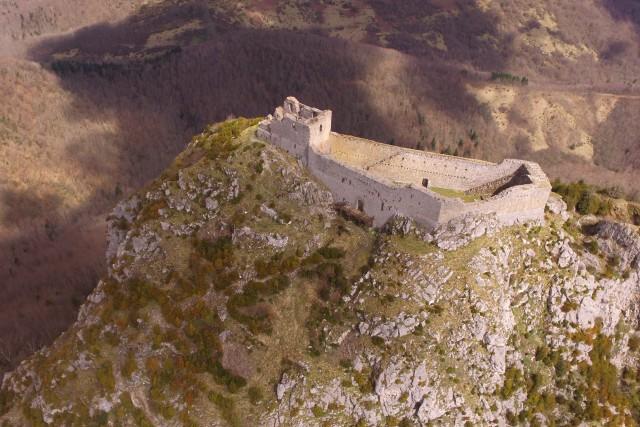 Montsegur Cathar Castle