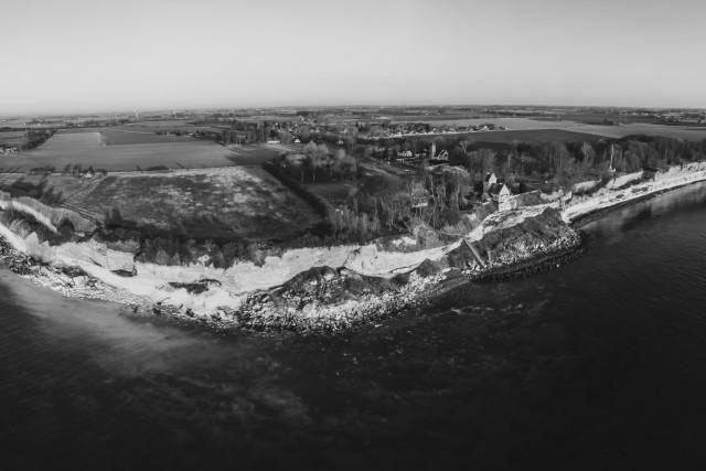 The cliff of Stevns, Stevns Klint