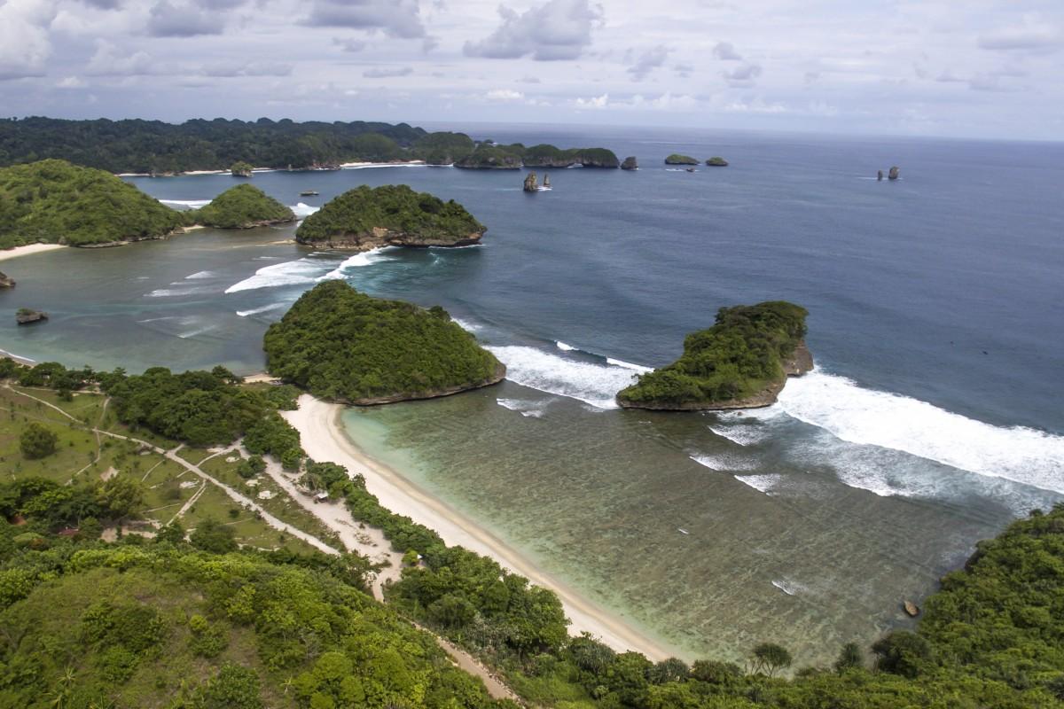 Asmaro Beach In Malang City Indonesia Dronestagram