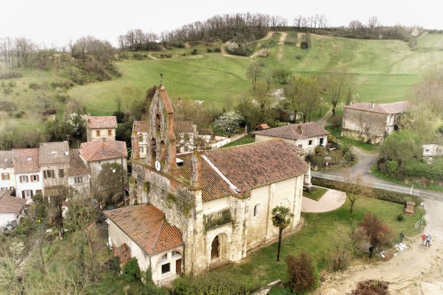 Sainte Suzanne Romane Church