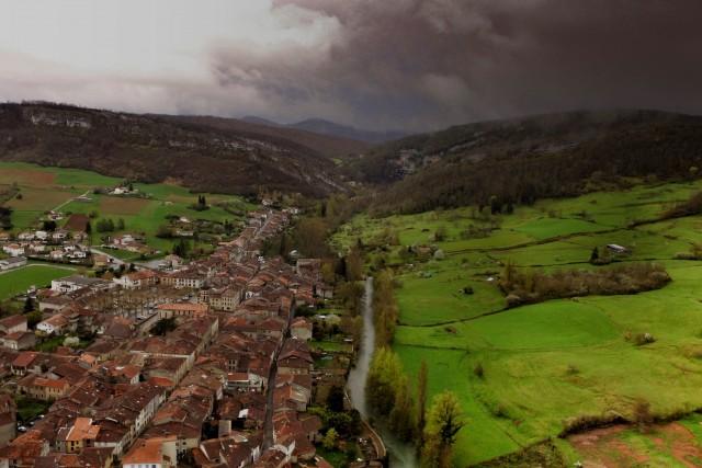 Le Mas d'Azil Village, France