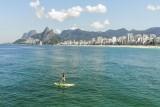 Paddle in Ipanema Beach, Rio de janeiro, Brasil