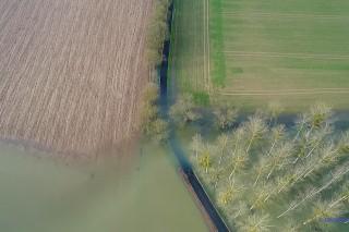 La Saône en crue
