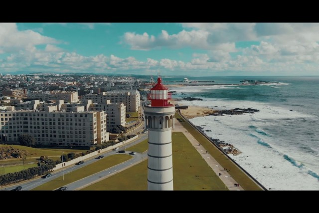 Farol de Leça da Palmeira with Mavic Air