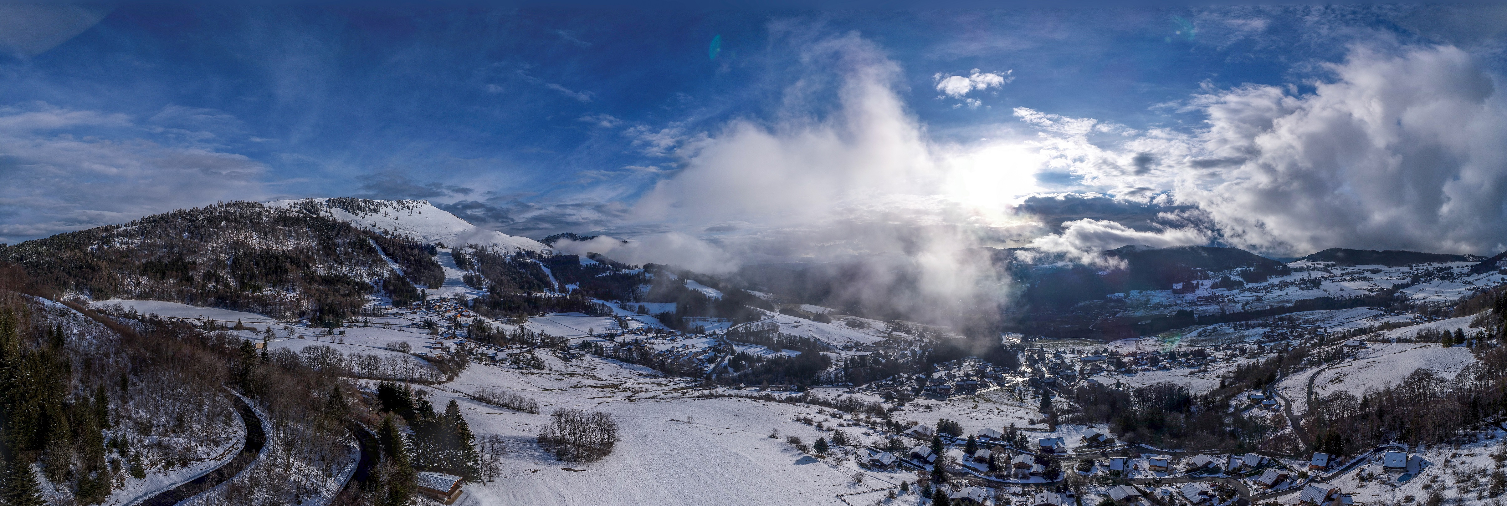 Habere-Poche, Lac le Vallon, Haute Savoie