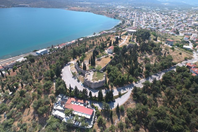 Castle of Halkida,Greece