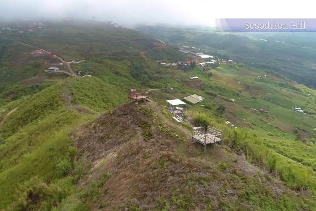 Pyramid n Sosodikon Hill, Kundasang