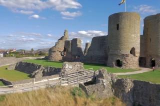 Rhuddlan Castle North Wales