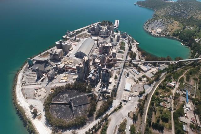 Cement industry Halkida,Greece