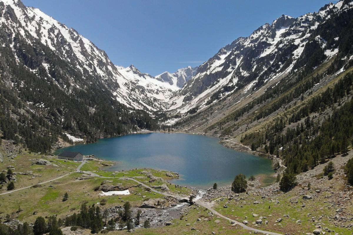 Lac de Gaube – France (Dji Mavic Air)