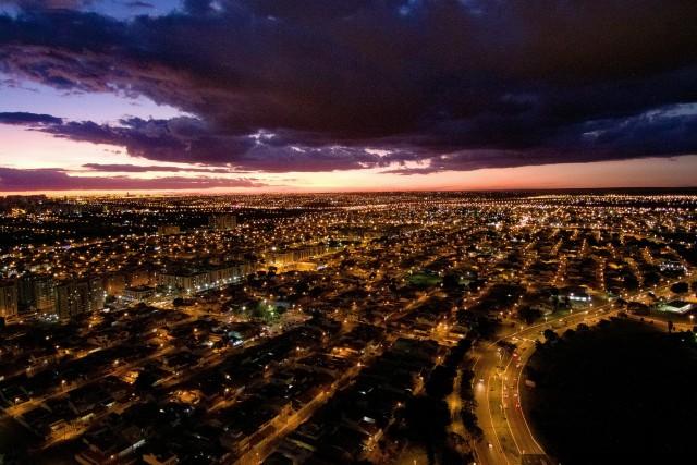 Pôr do sol em Brasília-DF, Brasil
