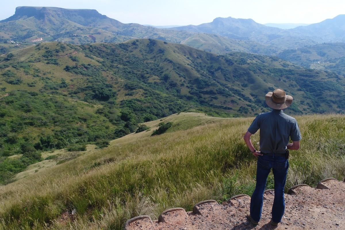Zinkwazi,  KZN, SouthAfrica. Admiring the view.